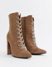 Elicia - Stivali stringati con tacco