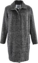 Cappotto ampio in tessuto effetto lana