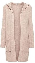edc by Esprit 108cc1i013, Cardigan Donna, Marrone (Taupe 5 244), Large