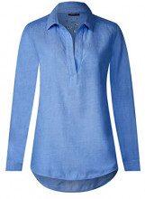 Street One 341220, Camicia Donna, Blu (Sailing Blue 10763), 50 (Taglia Produttore: 44)