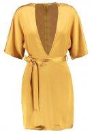 Vestito elegante - mustard