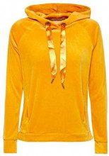 edc by Esprit 118cc1j001, Felpa Donna, Giallo (Honey Yellow 710), Medium