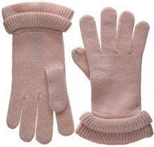 PIECES Pcfina Gloves, Guanti Donna, Rosa Peachskin, Taglia Unica