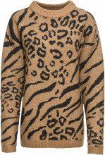 Pullover leopardato