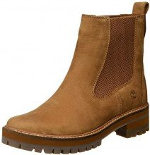 Timberland Courmayeur Valley, Stivali Chelsea Donna, Marrone Medium Brown Nubuck, 41.5 EU
