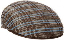 Kangol Rib Plaid 504, Basco Scozzese Uomo, Marrone (Brown), Large
