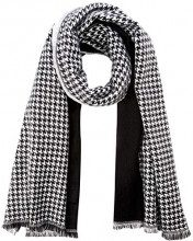PIECES Pckit Long Scarf, Sciarpa Donna, Bianco (Bright White), Taglia Unica