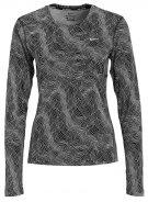 MILER  - Maglietta a manica lunga - black/reflective silver