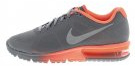 AIR MAX SEQUENT - Scarpe running neutre - cool grey/metallic silver/bright mango