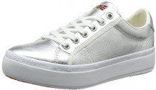NAPAPIJRI Footwear Astrid, Sneaker Donna, Argento (Silver), 39 EU