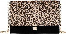 Borsa a tracolla leopardata