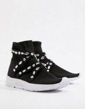 Decorate - Sneakers con calzino decorate