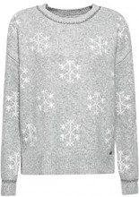 edc by Esprit 118cc1i003, Felpa Donna, Grigio (Medium Grey 5 039), Large
