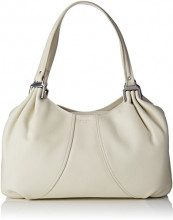 Le Tanneur Alice Thx1001 - Borse a spalla Donna, Bianco Sporco (Cocon), 9x26x37 cm (W x H L)