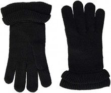 PIECES Pcfina Gloves, Guanti Donna, Nero Black, Taglia unica