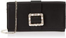 Guess Summer Night City, Borsa a Mano Donna, Nero (Black Bla), 22.5x12.5x3.5 cm (W x H x L)