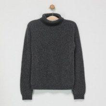 Maglia - 100% cachemire 2 fili - grigio antracite