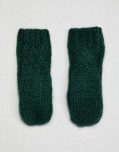 Manopole in maglia a trecce