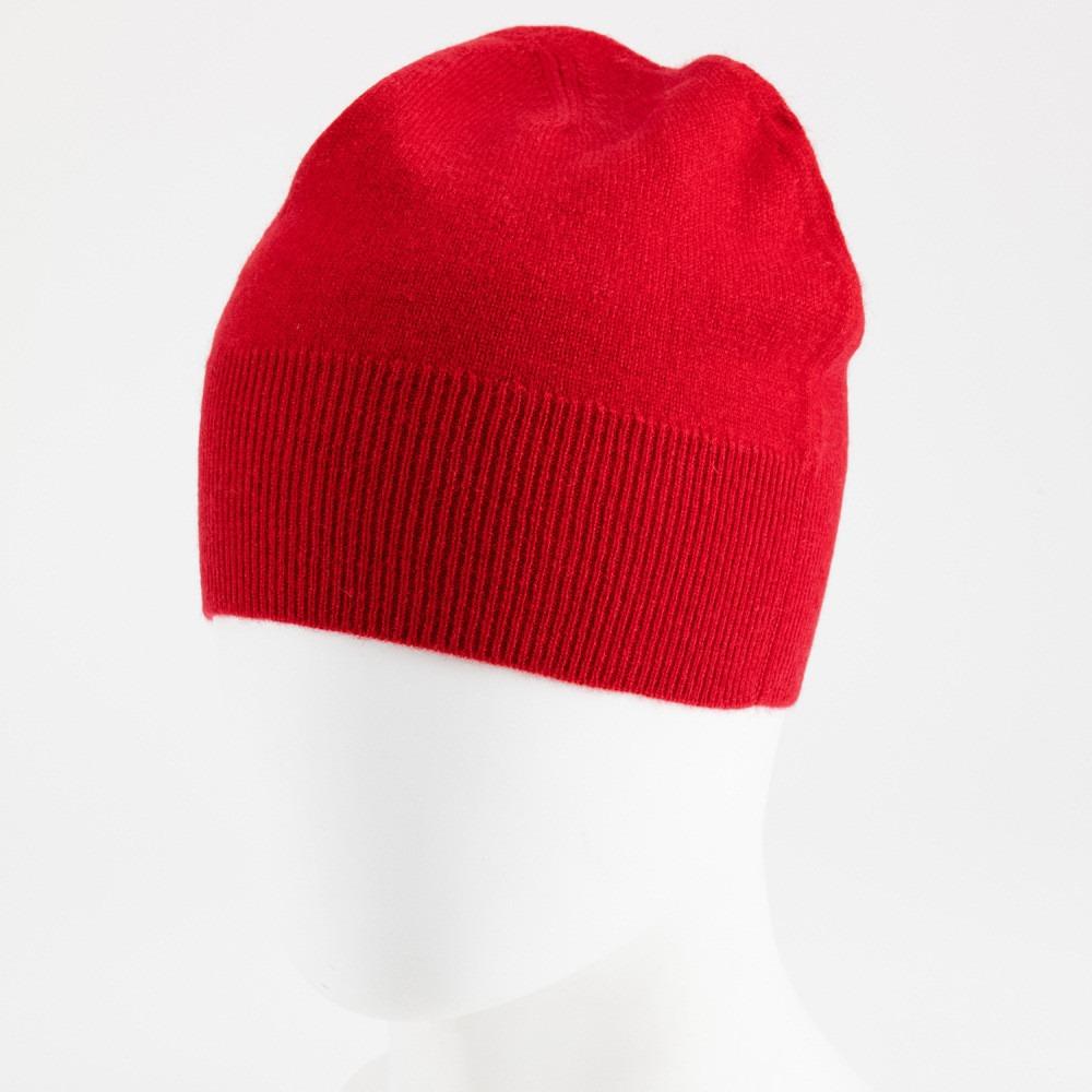 Berretto - 100% cachemire - rosso  a4ff3f312e03