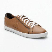 Sneakers Feret - pelle - cammello e marrone