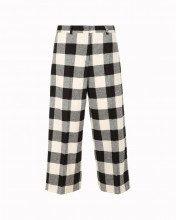 Pantalone Crop A Quadri