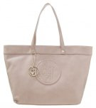 Shopping bag - dove grey