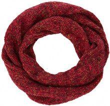 ESPRIT Accessoires 108ea1q015, Sciarpa Donna, Rosso (Bordeaux Red 600), Unica (Taglia Produttore: 1SIZE)