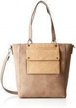 s.Oliver (Bags) Shopper - Borse a secchiello Donna, Marrone (Cashew Brown), 8x30x25 cm (B x H T)