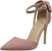 New Look 5673856, Scarpe col Tacco Punta Chiusa Donna, Rosa (Light Pink 70), 41 EU