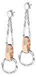 Just Cavalli Damen-Ohrringe Link SCJF03