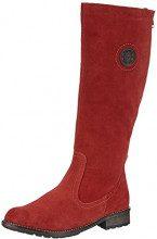 Remonte - R3388, Stivali Da Equitazione da donna, Rosso (Rot (14)), 42