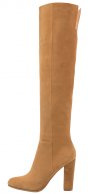 CLEAN - Stivali sopra il ginocchio - tan