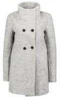 ONLNEW SOPHIA - Cappotto corto - light grey melange