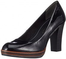 MARCO TOZZI 22417 Scarpe con Tacco Donna, Nero (Black Patent) 39 EU