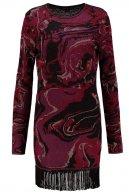 KATIE - Vestito di maglia - bordeaux