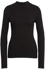 G-STAR RAW Lynn Mock Turtle Knit, Felpa Donna, (Dk Black 6484), Medium