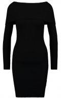 NMMAGENTA - Vestito di maglia - black