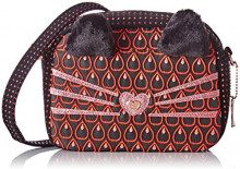 Lollipops Alphonse Cat Side - Borse a tracolla Donna, Rouge (Red), 7x14x21 cm (W x H L)