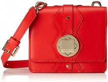 Liebeskind Berlin NASCrossM - EcoThi, Borsa a tracolla Donna, Rosso (Rot (Liebeskind Red)), 8x15x18 cm (B x H x T)