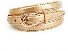 Anthoni Crown A43STG, Cintura Donna, Oro (Gold 016), 90 cm