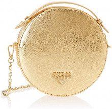 Guess Yo, Borsa a Spalla Donna, Oro (Gold/Gol), 18x18x5.5 cm (W x H x L)