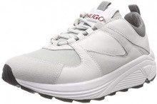 HUGO Horizon_Runn_Cmix, Sneaker Donna, Bianco (White 100), 41 EU
