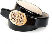 Anthoni Crown 4LD00L, Cintura Donna, (Schwarz 010), 95 cm