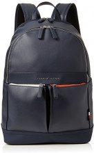 Tommy Hilfiger Th City Backpack - Zaini Uomo, Blu (Tommy Navy), 15.5x44x31 cm (B x H T)