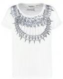 TOK - T-shirt con stampa - optical white