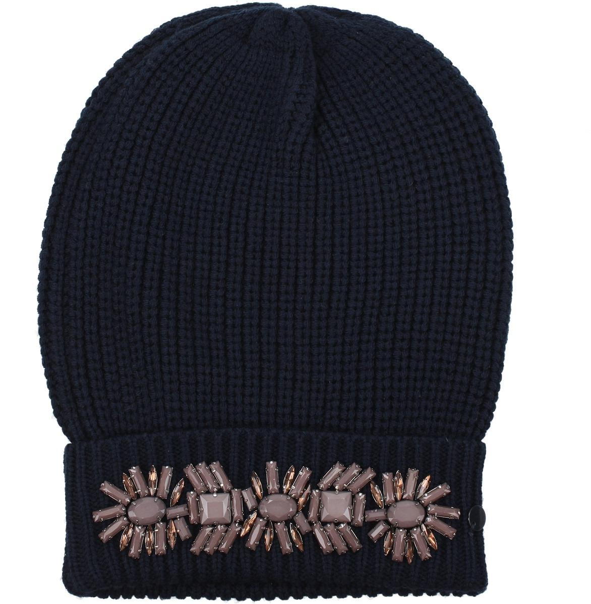 Cappelli Armani Jeans Donna Blu  9e2a46f9ec89