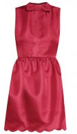 Vestito elegante - dark red