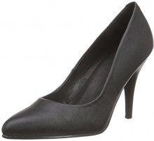 Pleaser - VANITY-420, Scarpe col Tacco Classiche Donna, Color Nero (Blk Faux Leather), Talla 41 EU (8 Damen UK)