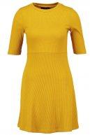Vestito di maglia - yellow
