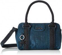 Kipling Bex Mini - Borse a secchiello Donna, Grün (Deep Teal), 22x14x10 cm (B x H T)